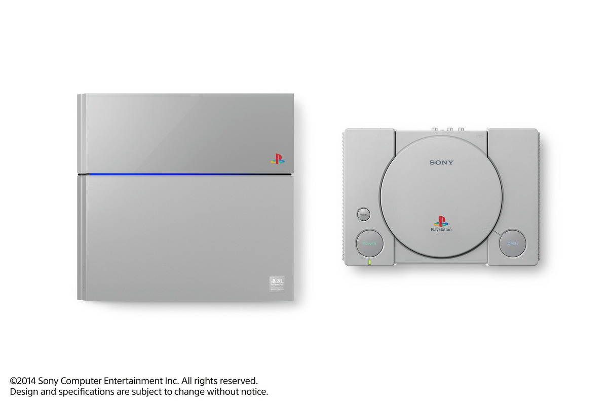 Sony's 20th Anniversary Original Gray Playstation 4 Revealed!
