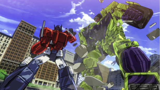Leaked Images Reveal Cel-Shaded TRANSFORMERS: DEVASTATION