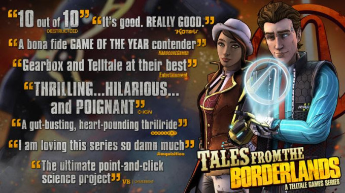 TALES FROM THE BORDERLANDS full game giveaway for PC/MAC!