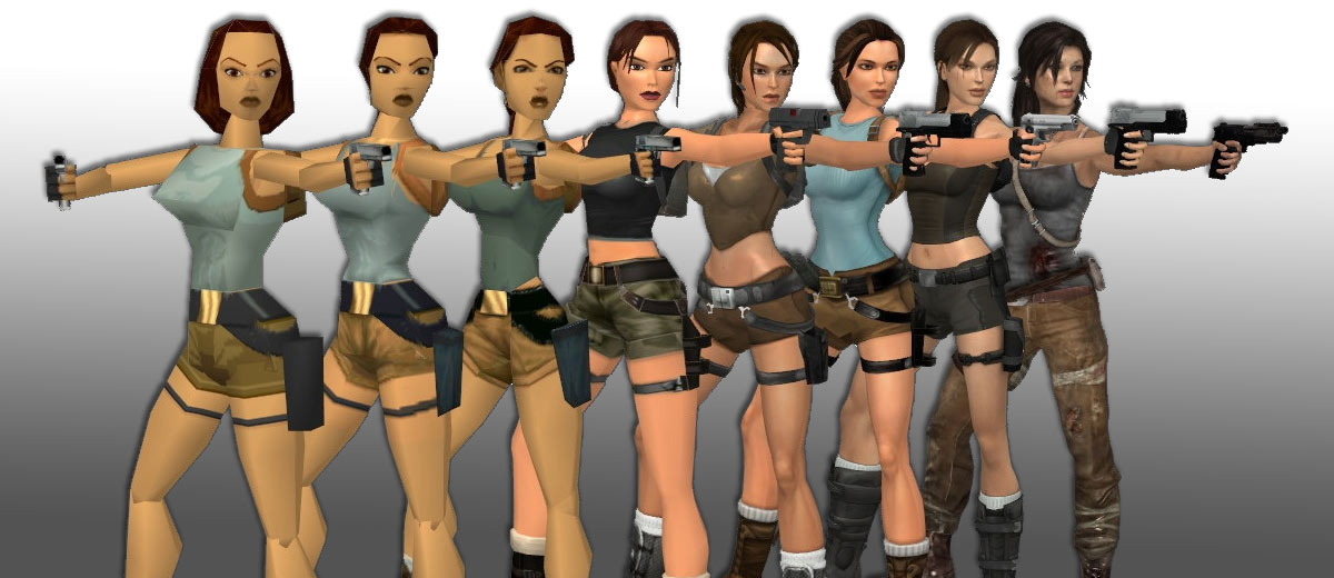 Evolution Of Lara Croft (1)