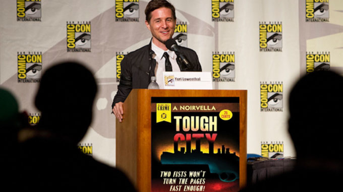 Exclusive Interview With Yuri Lowenthal About His New Audiobook: Tales From Tough City