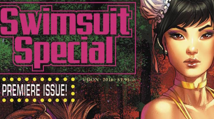 UDON CAPS OFF SUMMER WITH A SPICY STREET FIGHTER SWIMSUIT SPECIAL!
