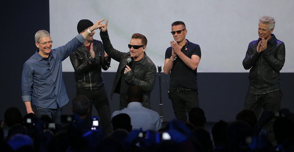 U2 Just Made Record History #apple