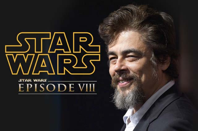 Benicio Del Toro Villano Star Wars Viii