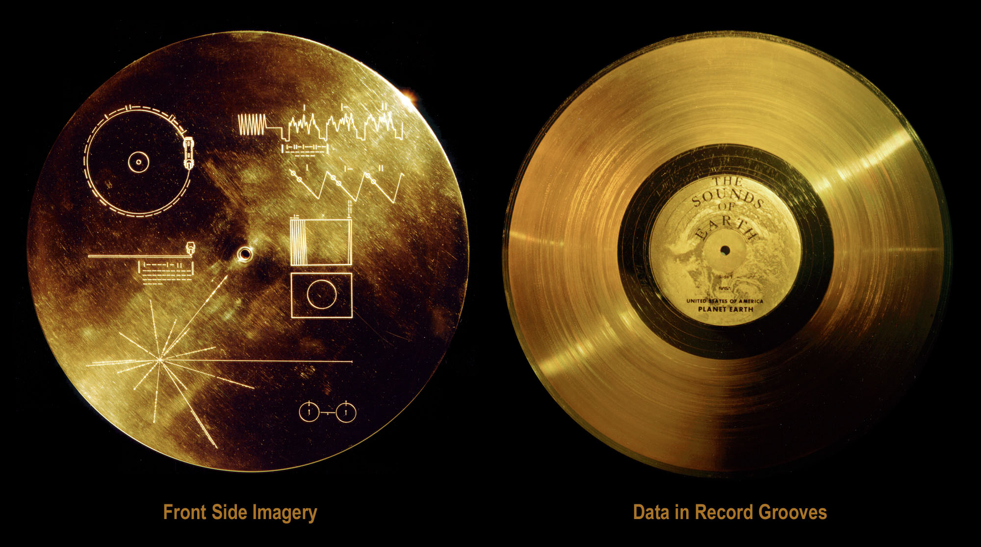 9c18Voyagers Golden Record 1977