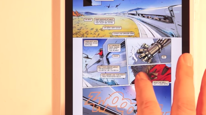 KINDLE BRINGS ENHANCED READING EXPERIENCE TO COMIC BOOK FANS