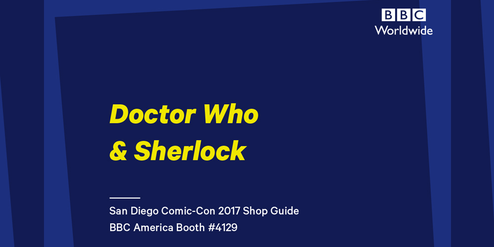 BBC Shop's Official SDCC Guide #SDCC2017